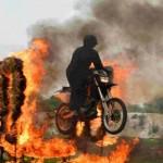 White Helmets Motorcycle Display Team