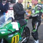 Ian Lougher Classic TT Win