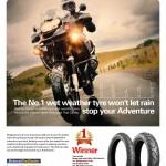 Best adventure bike tyre in the wet