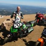Bruno Langlois Pikes Peak 2016 winner Kawasaki Z1000