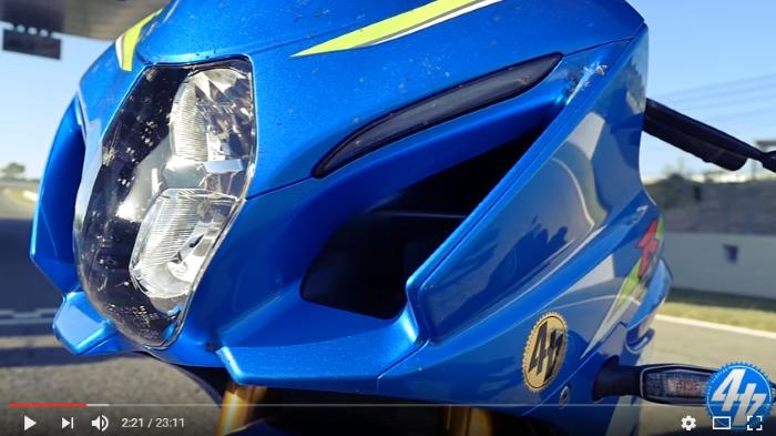 Suzuki GSX-R1000R video review