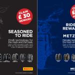 Pirelli Metzeler motorcycle tyre cashback