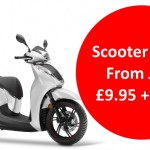 Scooter tyre clearance offer