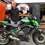 Mod 1 motorcycle test Aberystwyth Ceredigion