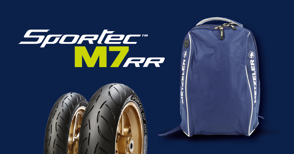 Metzeler backpack promotion