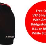 VR46 Bridgestone helmet bag